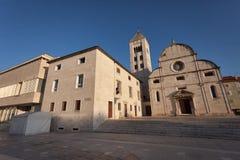 The saint Mary church Stock Photos
