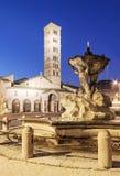 Saint Mary in Cosmedin, rome Royalty Free Stock Photos