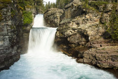Saint Mary Falls Royalty Free Stock Image