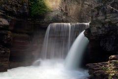 Saint Mary Falls, Glacier National Park Royalty Free Stock Photos