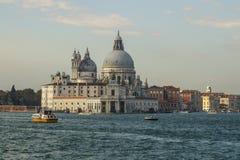 Saint Mary of Health church at Punta della Dogana in Venice, Italy, 2016 royalty free stock image