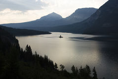 Saint Mary Lake Stock Photos
