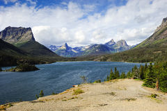 Saint Mary Lake Royalty Free Stock Image