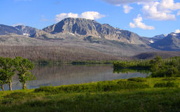 Saint Mary Lake landscape Stock Image