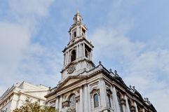 Saint Mary Le Grand at London, England Royalty Free Stock Image