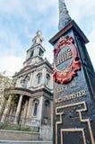 Saint Mary Le Grand at London, England Stock Photography