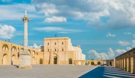Saint Mary of Leuca Sanctuary, province of Lecce, Apulia royalty free stock photo