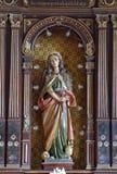 Saint Mary Magdalene. Altar in Parish Church of  in Donja Kupcina, Croatia royalty free stock photo