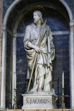 Saint Mary Major Basilica - Italy. Founded in the 4th century, the Basilica di Santa Maria Maggiore Basilica of Saint Mary Major is one of the five great ancient stock images