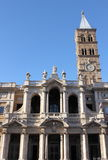 Saint Mary Major Basilica in Rome Royalty Free Stock Image