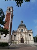The Saint Mary of Mount Bericoin Vicenza Royalty Free Stock Photography