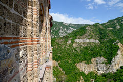Saint Mary of Petrich church at Asen's Fortress near Asenovgrad Stock Photo