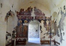 Saint Mary of Petrich church at Asen's Fortress near Asenovgrad Royalty Free Stock Image
