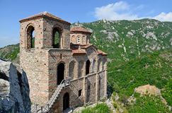 Saint Mary of Petrich church at Asen's Fortress near Asenovgrad Royalty Free Stock Photography