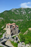 Saint Mary of Petrich church at Asen's Fortress near Asenovgrad Stock Photography