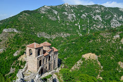 Saint Mary of Petrich church at Asen's Fortress near Asenovgrad Royalty Free Stock Photos