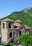 Saint Mary of Petrich church at Asen's Fortress near Asenovgrad Stock Photos