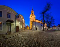 Saint Mary's Cathedral and Kiriku Plats on Toompea Hill Royalty Free Stock Image