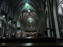 Saint Marys Cathedral Yangon. 15. Sept. 2013 Stock Photos