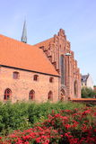 Saint Mary's church in Helsingor Stock Photo