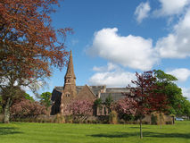 Saint Mary and SAint Peter Church, Montrose Scotland, may 2013. Sandstone church first built in 1724 Stock Photography