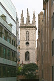 Saint Mary Somerset Tower Images libres de droits