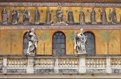 Saint Mary in Trastevere church Stock Image