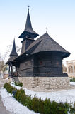 Saint Mary wooden monastery, Techirghiol, Romania Stock Photo