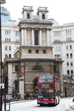 Saint Mary Woolnoth Church of England, London Royalty Free Stock Photos