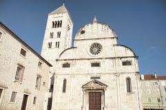 Saint Mary in Zadar Stock Photo