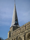 Saint Marys church steeple, Hadleigh, Suffolk Stock Images
