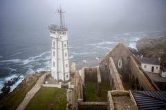 Phare de Saint Mathieu, Plougonvelin,Finistere, Brittany, France Stock Photography