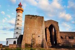Saint-Mathieu Lighthouse Stock Image