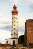Saint Mathieu Lighthouse Stock Image