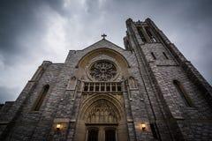 Saint Matthew Lutheran Church à Hannovre, Pennsylvanie photographie stock