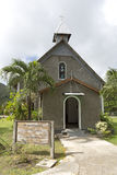 Saint Matthews church, Praslin island Stock Image