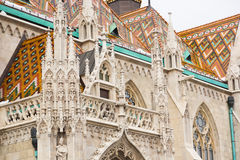Saint Matthias Church in Budapest Royalty Free Stock Photography