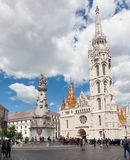Saint Matthias church, Budapest, Hungary Royalty Free Stock Photo