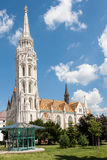 Saint Matthias church, Budapest Stock Images