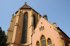 Saint Matthieu church in Colmar Royalty Free Stock Photography