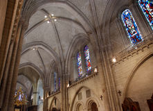 Saint-Maurice Cathedral, Angers, France Royalty Free Stock Photos