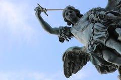 Saint Michael fotografia de stock