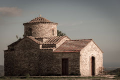 Saint Michael the Archangel Church. Kato Lefkara village. Larnac Stock Images