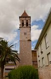Saint Michael bell tower. Trogir, Croatia Royalty Free Stock Photography