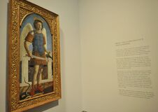 Free Saint Michael By Piero Della Francesca At The National Gallery In London Stock Photography - 173533042