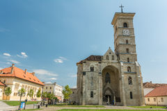Saint Michael Cathedral Of Alba Iulia Photographie stock libre de droits