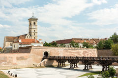 Saint Michael Cathedral Of Alba Iulia Stock Photography