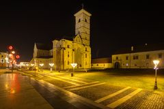 Saint Michael Cathedral in Alba Iulia Royalty Free Stock Photography
