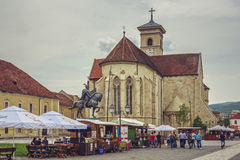 Saint Michael Cathedral, Alba Iulia Royalty Free Stock Image
