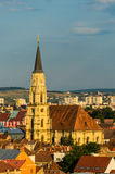 Saint Michael Cathedral in Cluj Royalty Free Stock Photo